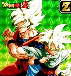 Goku and Gohan. Goku And Gohan, Son Goku, Manga Anime, Anime Art, Kimi Ni Todoke, Super Saiyan, Digimon, Dragon Ball Z, Arch