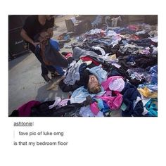 It really looks like my bedroom floor but there is no Luke on my floor:(.
