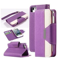 Gotida Leather Wallet Case with Credit Card Slots For iPhone 4/4S *** Check this awesome product by going to the link at the image.