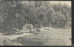 1944 Bathing Beach Hotel Wawbeek Lake Winnipesaukee Melvin Village NH  Postcard