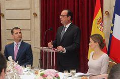 King Felipe and Queen Letizia of Spain in France