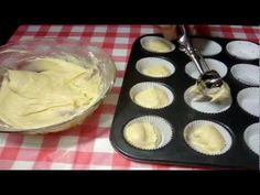 Receta cup cake  basico- como hacer cup cakes #1