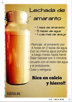 Leche de amaranto