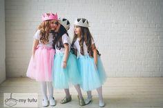 юбки-пачки пастельных цветов. идеально на праздник, день рождения