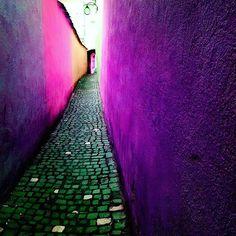 #tbt #strada #sforii #brasov #romania #visitromania #travel #colors #imagination #instapic #instagood #instatravel #like #pic #pink #purple @ioanadumitrascu