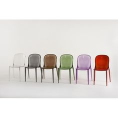 kartell thalya chair - tom particularly likes in opaque white