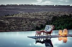 DEDON: MBRACE - Lounge chair - spice