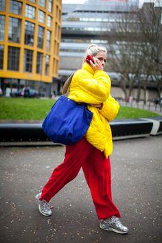 Street style at London Fashion Week fall 2017