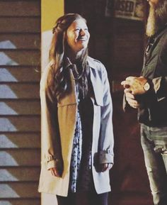 Emilie on set.   #emiliederavin #ouatset #onceuponatime #bellefrench #belles