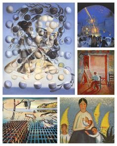 """Born in Figueres, Spain, on May 11, 1904, Salvador Dali is known for his """"technical skill as a painter and the shocking quality of his imagination. His pioneering spirit was also accompanied by a reverence of tradition and a will for continuity."""" (thedali.org) Celebrate his birthday by visiting The Dali Museum's website: http://thedali.org/home.php"""