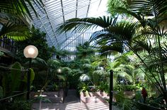 Barbican's conservatory is lovely too - great for wedding receptions and kids love watching the big fish in the pond