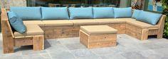 Steigerhout lounge op maat