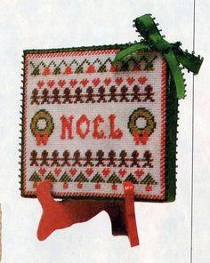 cross stitch NOEL