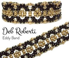 Eddy Band beaded pattern tutorial by Deb Roberti