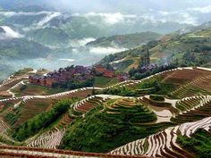 This place, in the heart of the Ailao Mountains, is called Dayangjie and is located in Honghe County, Yunnan Province. Its inhabitants are known as the Yeche, a branch of the Hani ethnic minority.