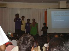 Prana violet healing workshop held in hyderabad, india in may2015.