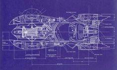 Batman '89 Batmobile blueprints