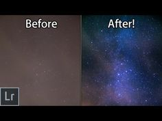 Star And Milky Way Photography - How To Turn Your Boring Photos AWESOME With Lightroom! - YouTube