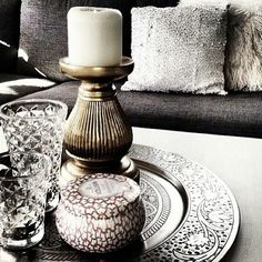 . Voluspa Candles, Candle Holders, Porta Velas, Candle Stand