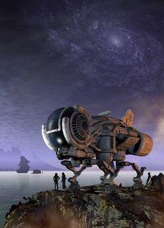 Spaceship Art, Cyberpunk Art, Science Fiction Art, Deep Space, Sci Fi Art, Outer Space, Concept Art, Star Wars, Artist