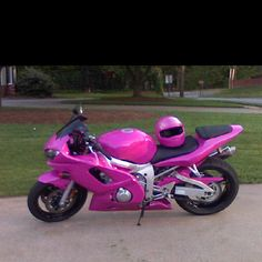 I'm in love! It even has a matching helmet!