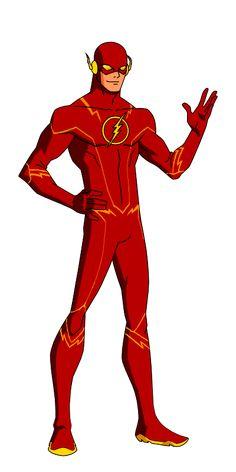 DC:New Earth The Flash Animated by kyomusha.deviantart.com on @deviantART
