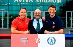 Asernal will play Chelsea at Aviva stadium for the 2018 international Champions Cup Soccer World Cup 2018, International Champions Cup, Chelsea, Football, Play, News, Hs Football, Futbol, American Football