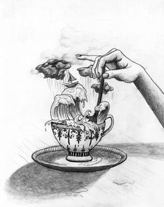 Tempest In A Teacup by Rebecca Stefun
