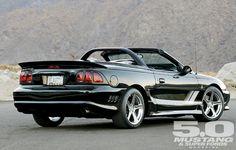 1996 Saleen Mustang Convertible Right Rear Photo Sn95 Mustang, Saleen Mustang, Vintage Mustang, Ford Mustang Convertible, Pony Car, Sweet Cars, Car Ford, My Ride, Dream Cars