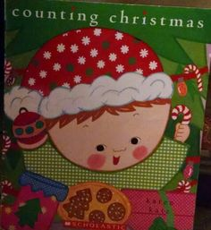 Katz, counting christmas, numbers, counting, holidays, Christmas, Santa, children, presents, siblings