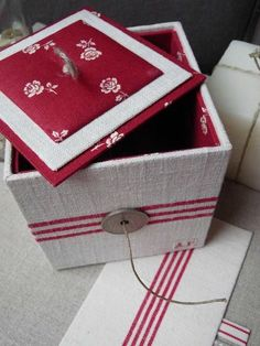 diy decorated box, cartonnage, Blog 13-01-13 3