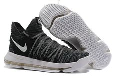 outlet store 74c78 37380 Cheap Wholesale Nike Kevin Durant 10 Grey Black White Youth Basketball  Shoes, Kevin Durant Basketball