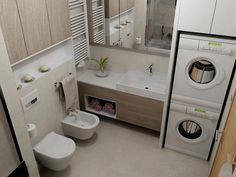 Check out this important photo in order to look into the here and now guidance on House Bathroom Ideas Modern Bathroom Decor, Modern Bathroom Design, Bathroom Interior Design, Beautiful Small Bathrooms, Amazing Bathrooms, Laundry Bathroom Combo, Bathroom Plans, Bathroom Ideas, Master Bedroom Bathroom