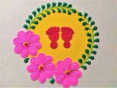 Rangoli Designs Latest, Latest Rangoli, Rangoli Designs Flower, Rangoli Patterns, Rangoli Designs Diwali, Rangoli Designs Images, Beautiful Rangoli Designs, Poster Rangoli, Diwali Poster
