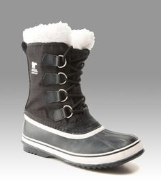 Built to withstand freezing winter days, these Sorel boots feature frost plugs under the foot that increase the thermal barrier between you and the cold ground. Try on a pair in-store today. http://www.marksyorkton.com/