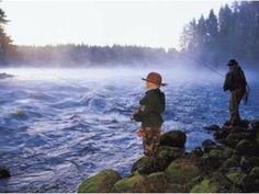 Fishing in Central Finland