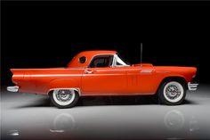 1957 FORD THUNDERBIRD E-SERIES CONVERTIBLE - Barrett-Jackson Auction Company - World's Greatest Collector Car Auctions
