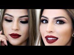 Maquiagem para Morenas e Negras - Fácil de fazer - YouTube