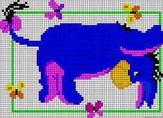 Free Eeyore Cross Stitch Pattern