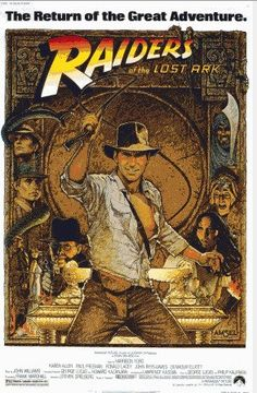 Raiders of the Lost Ark Cross stitch pattern pdf by diana70