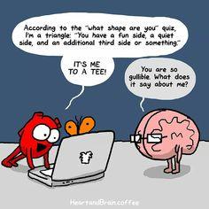 Heart and Brain - The Awkward Yeti