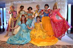 Meeting the Disney Princesses at the Princess and Pirates Breakfast at the Disneyland Hotels Founders Club by Loren Javier, via Flickr