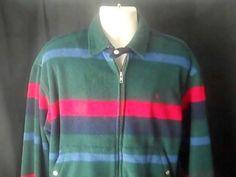 RALPH LAUREN Polo Sport Mens L Fleece Sweatshirt Multi Color #RALPHLAUREN #Sweatshirt