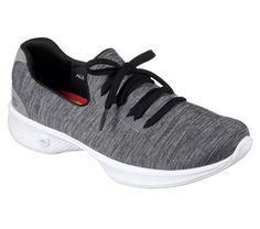 Skechers 14177, Damen Sneakers, Blau - Navy/White Knit - Größe: 40 EU (M)