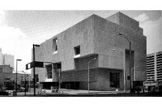 Renowned modernist architect Marcel Breuer, designer of the Whitney Museum of American Art in New