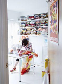 Jane Foster sewing studio | Magazine IKEA