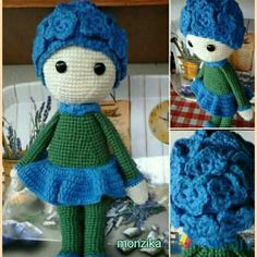 1000+ images about lalylala dolls on Pinterest Crochet ...