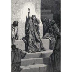 Deborahs Song Gustave Dore (1832-1883 French) Canvas Art - Gustave Dore (18 x 24)