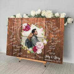Wedding Guest Book Alternatives & Card Boxes by TheGreenDovecote Guest Book Tree, Photo Guest Book, Wood Guest Book, Rustic Wedding Guest Book, Guest Books, Wedding Jobs, Fall Wedding, Our Wedding, Wedding Ideas
