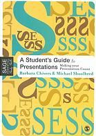 """A student's guide to presentations : making your presentation count"" -  	 This book gives readers a detailed guide to the preparation and delivery of both individual and group presentations. It will take them through all the pratcial stages necessary to complete a presentation and obtain excellent marks"